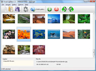 photo web gallery interface Slideshow Jquery Lightbox