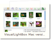 Lightbox jQuery Mac version - Main Window